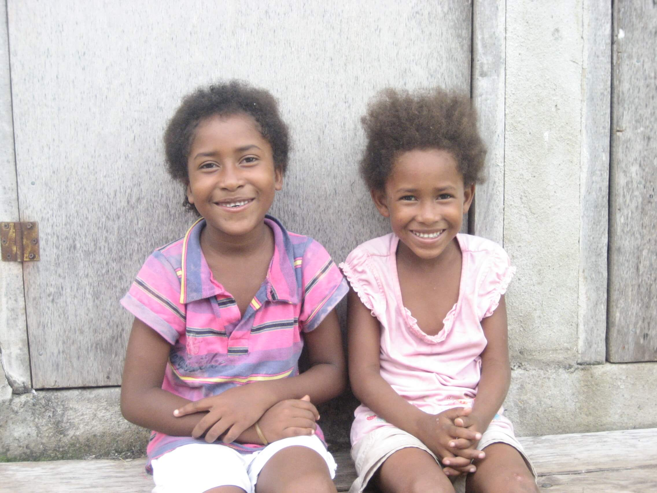 Belize 2 girls